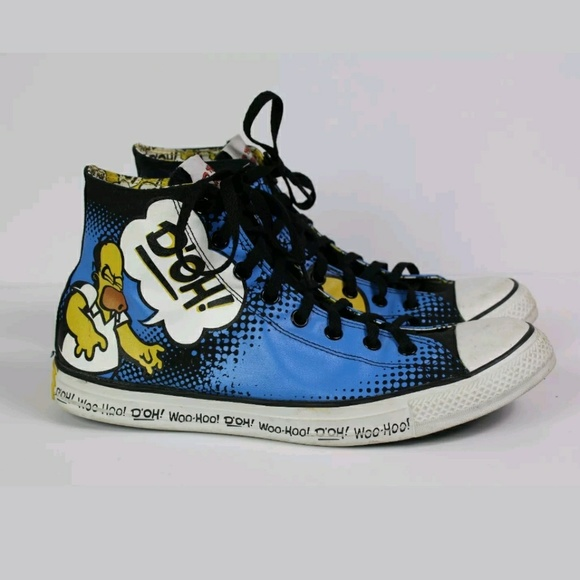 ae47b4953e82 Converse Other - Homer Simpson Mens Converse Shoes